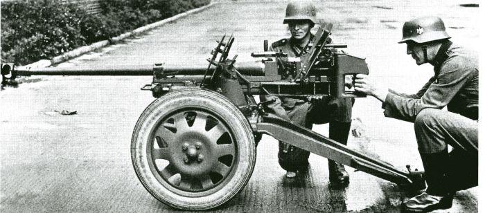 Вдохновлены инженеры были немецким орудием. |Фото: pinterest.ru.
