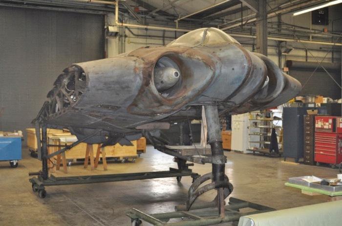 Единственный самолет был вывезен из Германии в США.  Фото: filminspector.com.