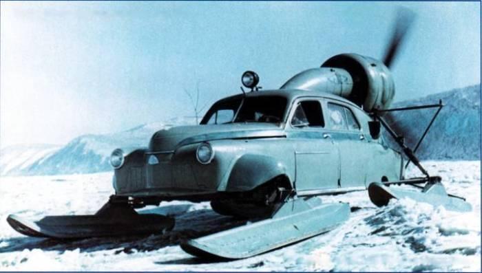 Любопытный автомобиль для военных.