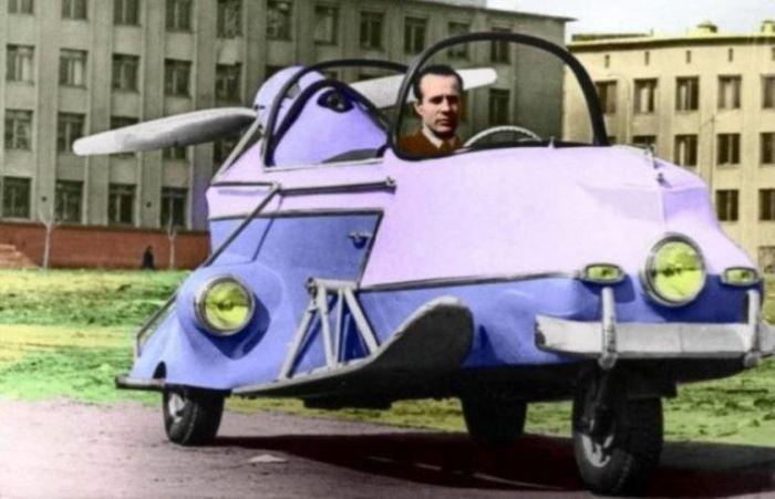Сверхгибридное транспортное средство.