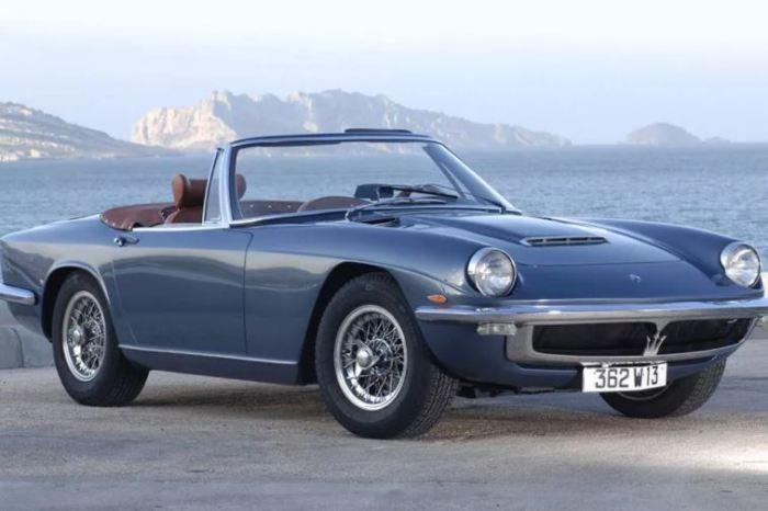 Самый красивый в мире автомобиль Maserati Mistral.