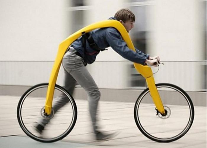 Неожиданно: велосипед.