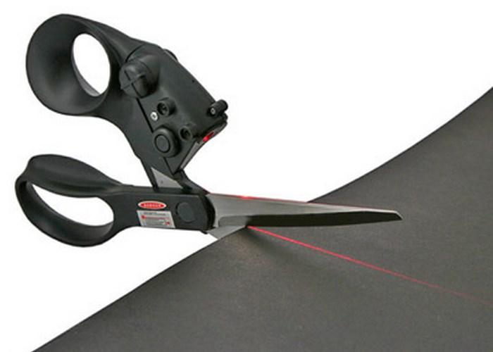 Неожиданно: ножницы-лазер.