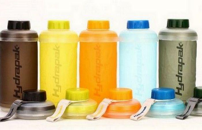 Гаджет для выживания: Hydrapak Collapsible Bottle.