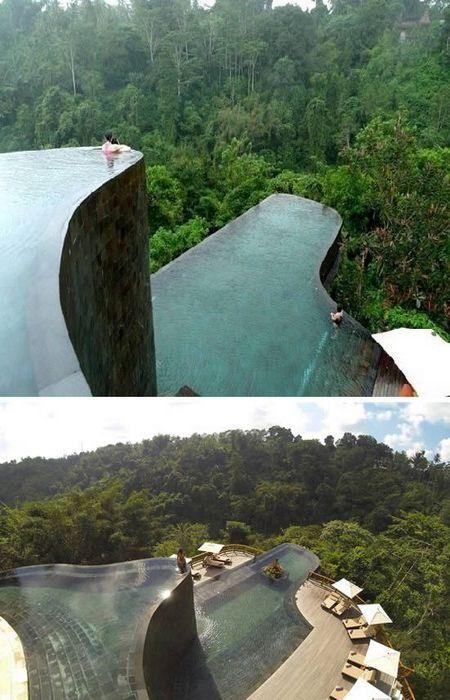 Бесконечный бассейн на Бали.