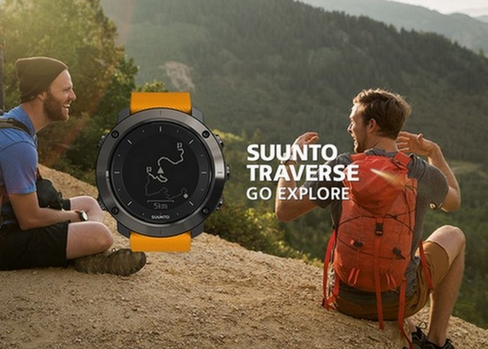 Часы-навигатор Traverse с Movescount app от Suunto.