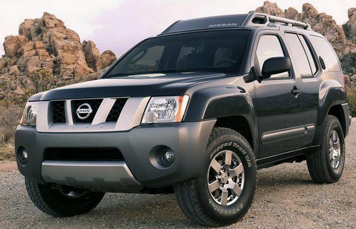 Автомобиль Nissan X-terra.