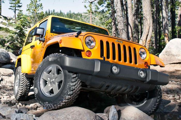 Jeep Wrangler / прицеп до 900 кг.