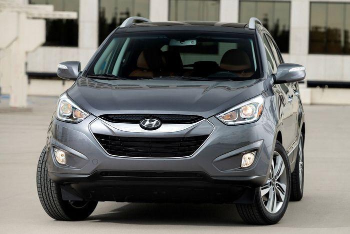 Автомобиль Hyundai Tucson.
