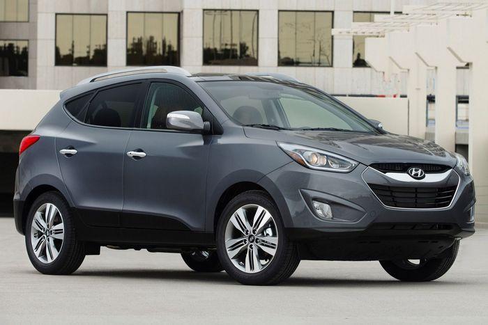 Hyundai Tucson / прицеп до 900 кг.