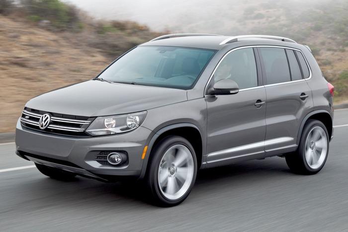 Volkswagen Tiguan / прицеп до 1000 кг.