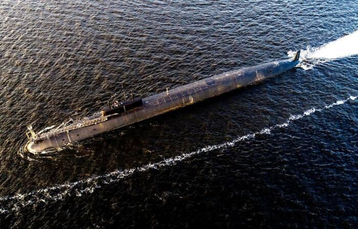 Самая большая подлодка. |Фото: tass.ru.