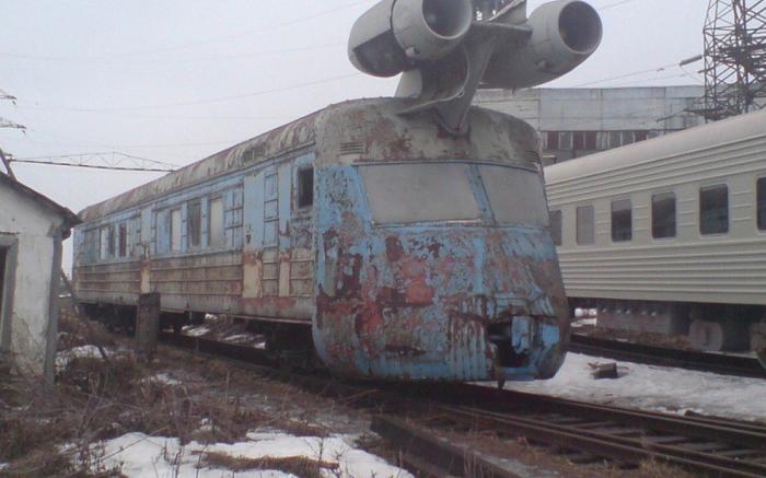 По завершению программы поезд просто бросили. |Фото: yandex.com.