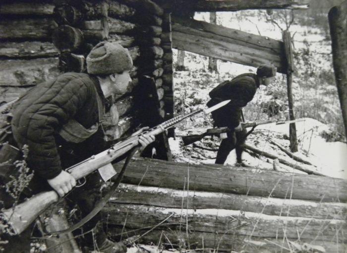 Вооружить всю армию СВТ не успели. |Фото: popgun.ru.