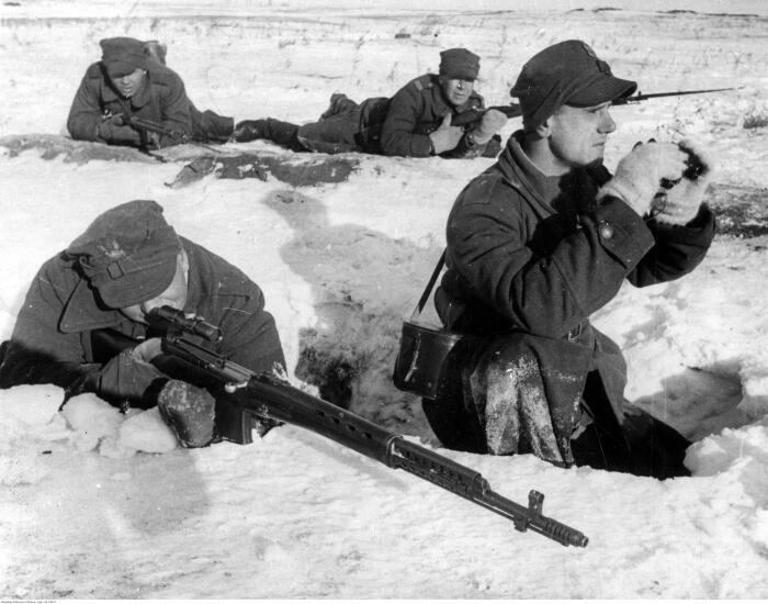 Советскую винтовку оценили и немцы. |Фото: livejournal.com.