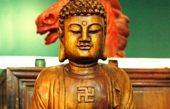 Свастика в буддизме.