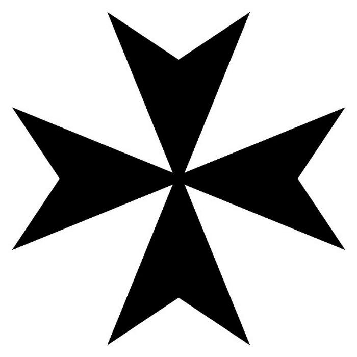 Символ «Мальтийский крест».