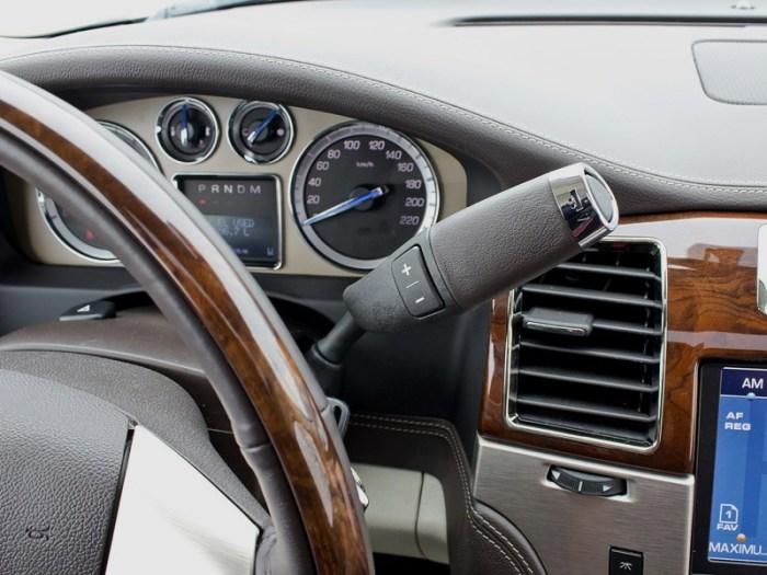 Селекторов много видов. Бывают даже на руле. |Фото: autoua.net.