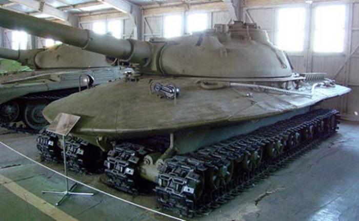 Объект 279 в танковом музее в Кубинке под Москвой.