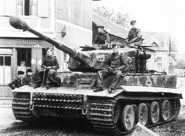 Танк «Tiger».