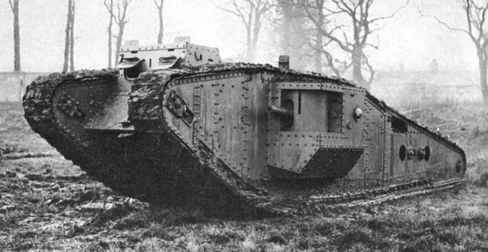 WWI tank.