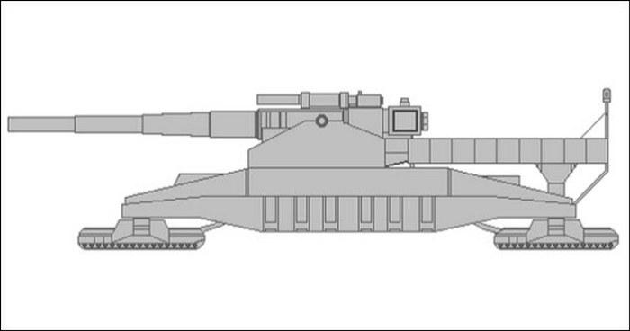 Сухопутный крейсер Landkreuzer P. 1500 Monster.