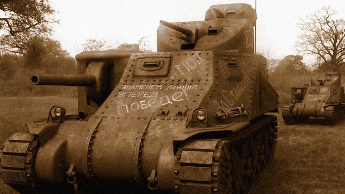 Сомнительный танк. |Фото: goodfon.ru.