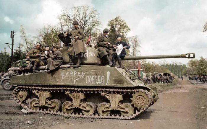 Лучший союзный танк на Восточном фронте. ¦Фото: fonstola.ru.