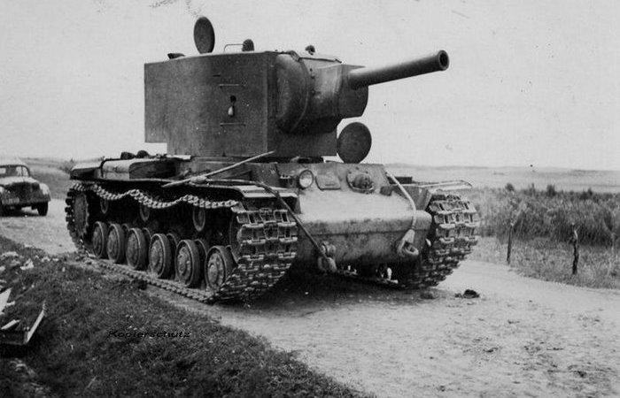 Последний богатырь: танк КВ-2, который был похоронен после начала войны