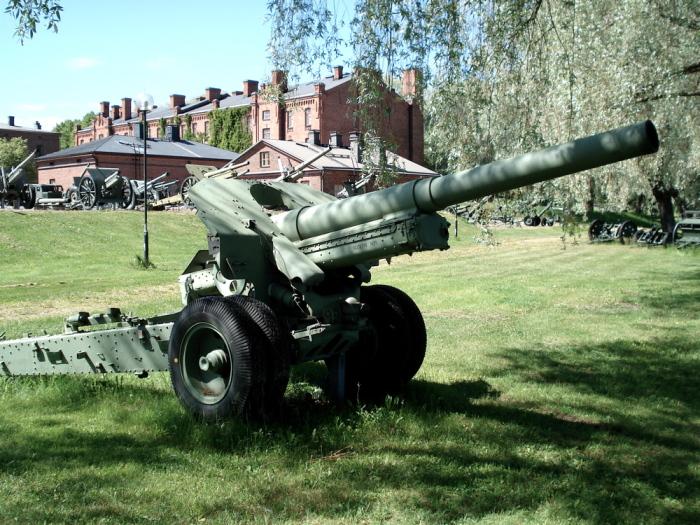 Вместо пушки - гаубица. ¦Фото: academic.ru.