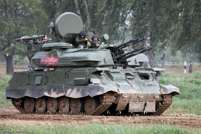 ПВО против низколетящих целей. |Фото: vitalykuzmin.net.