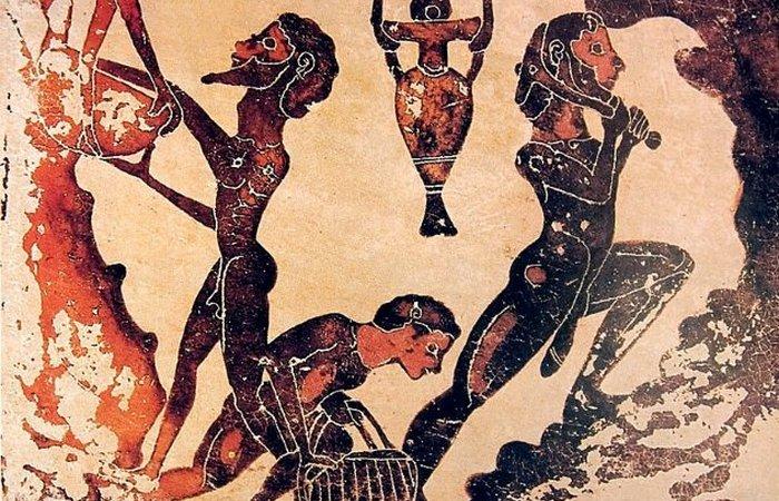 Принудительные татуировки в Древней Греции.
