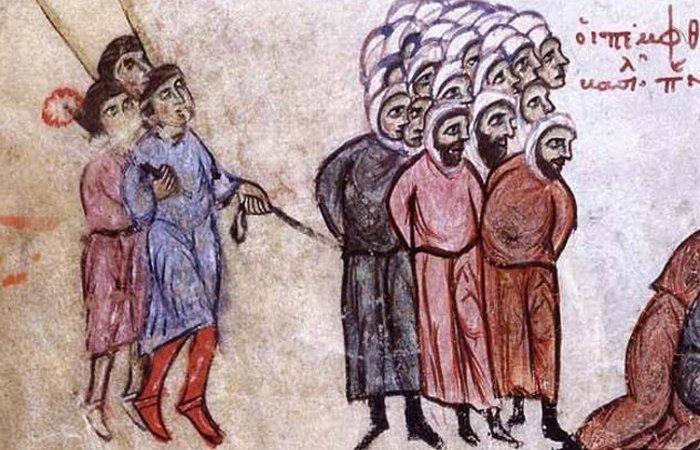 Принудительные татуировки в Византийской Империи.