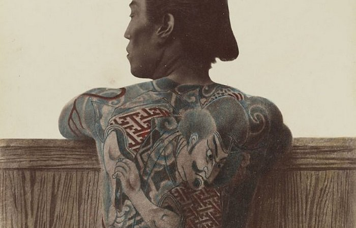 Принудительные татуировки в Японии.