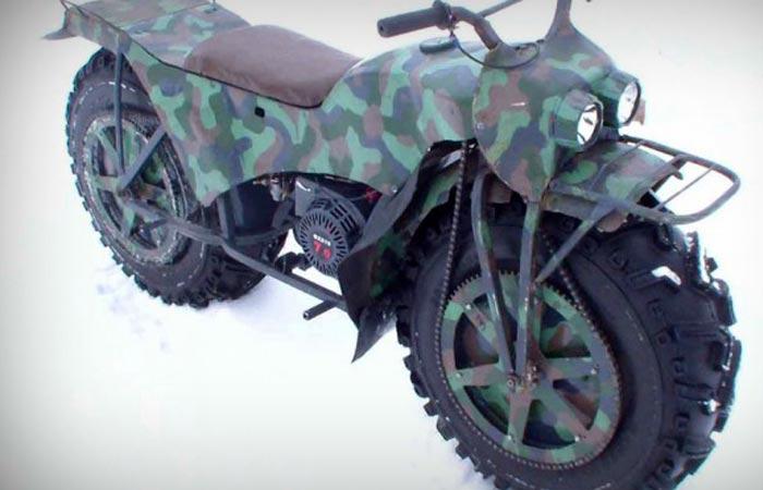 Апокалиптический мотоцикл Александра Зинина.