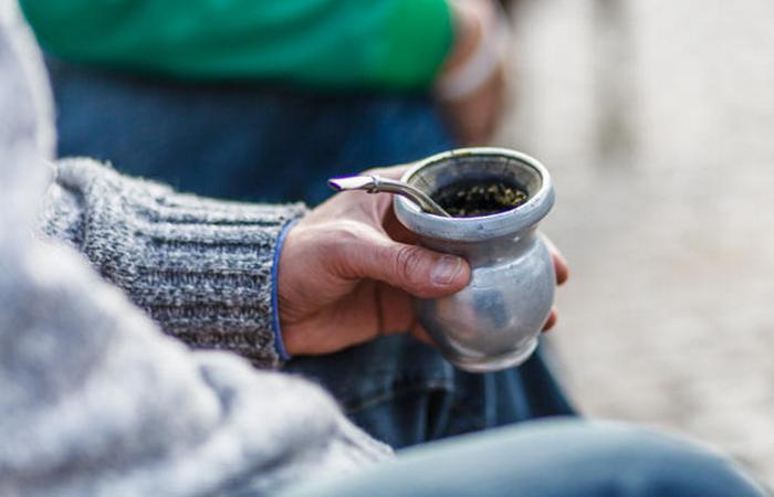 Аргентинский травяной чай мате.