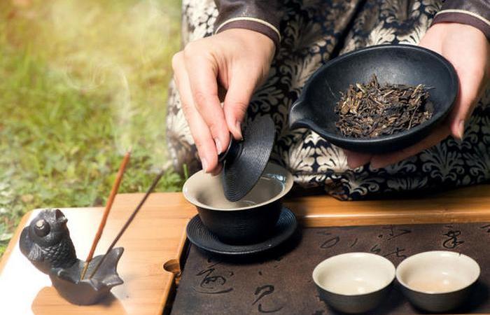 Улунские чаи завариваются от 5 до 10 раз.