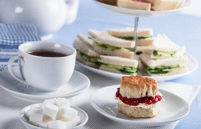 Британские традиции послеобеденного чая.
