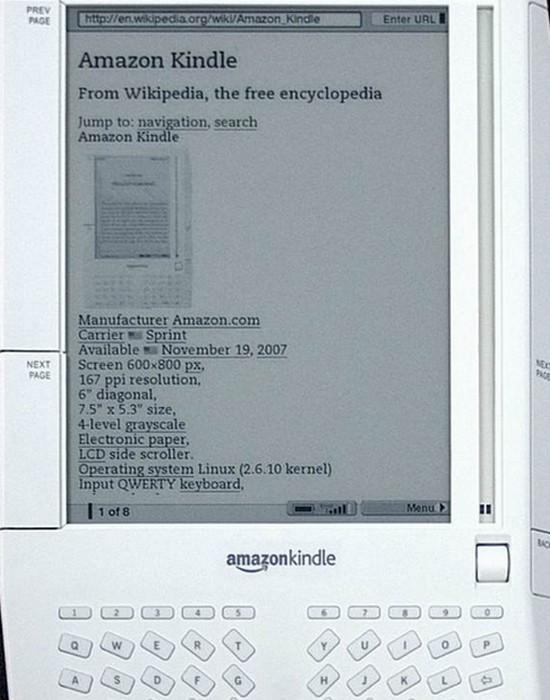Технологическое достижение: электронная книга.