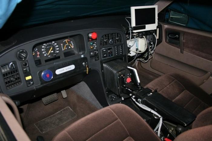 Джойстик в Saab