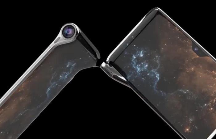 Необычный смартфон-раскладушка станет скоро доступен.