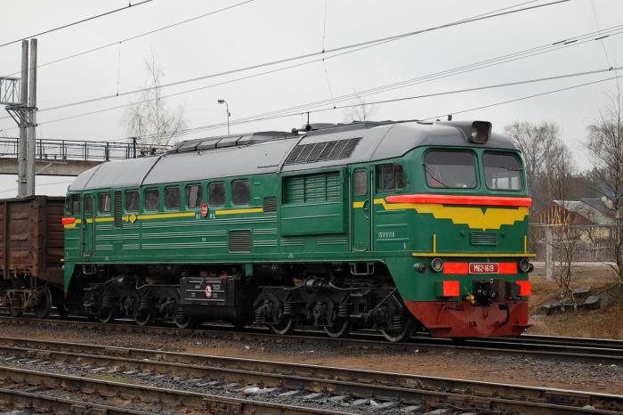 За основу был взят обычный тепловоз. |Фото: pskovrail.ru.