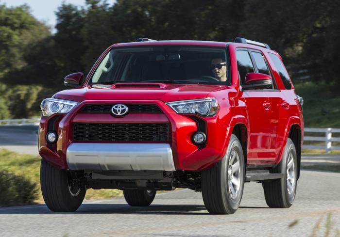 Даже Toyota 4Runner имеет проблемы.