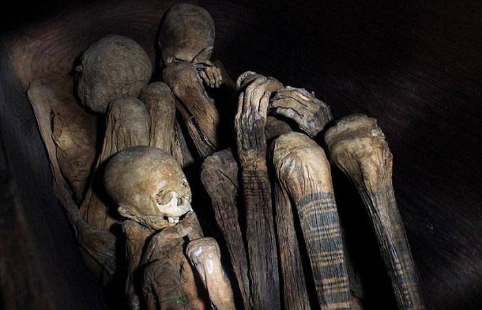 Жуткое место: пещера мумий Кабаян.