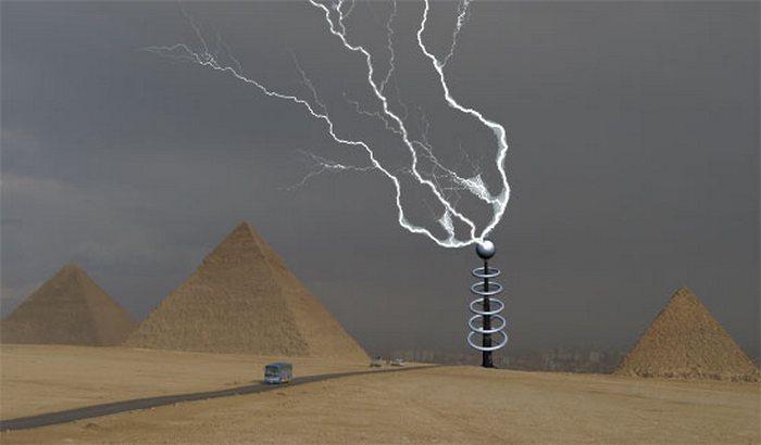 Управление погодой с помощью лазеров.