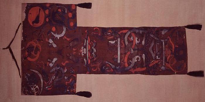 Погребальное знамя китайской матроны.