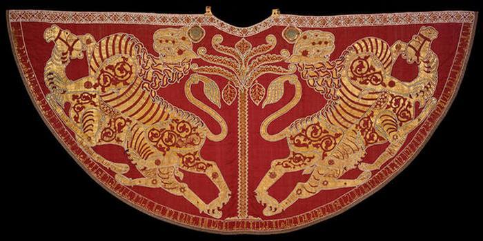 Мантии короля Сицилии.