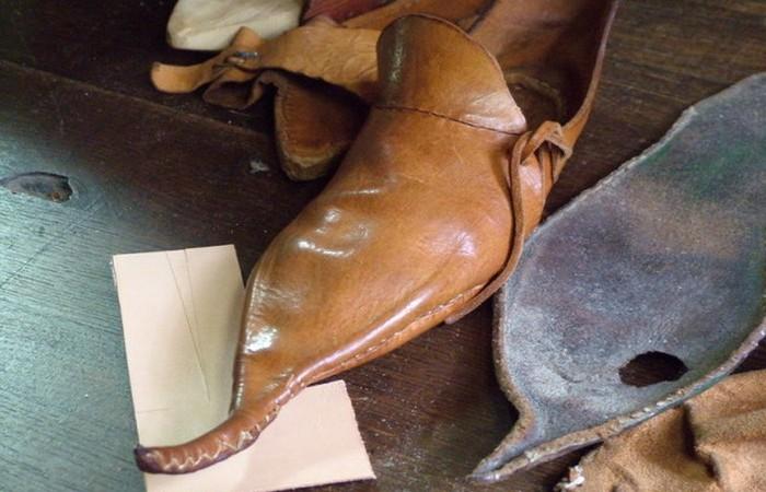 Обувь кракове и другие причуды из прошлого.