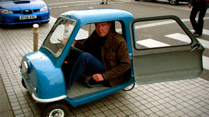 Самый маленький автомобиль.