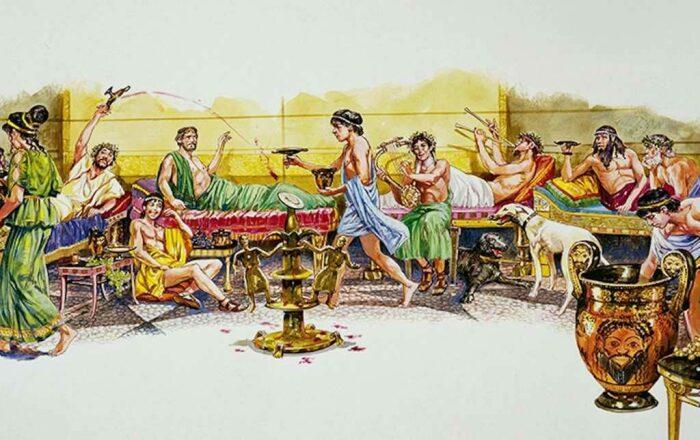 Жили спартанцы, как и все греки. | Фото: drimtim.ru.